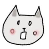 ラッピング初心者のネコちゃん